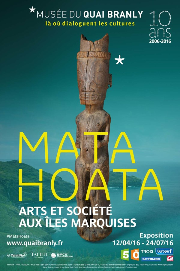 Mata Hoata at Musée du Quai Branly